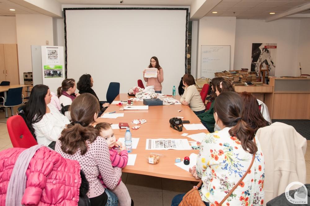 12  Workshop WAHM Atelier de cusaturi populare romanesti 14 Martie 2015