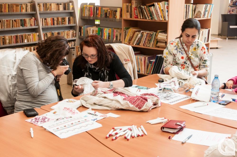 13  Workshop WAHM Atelier de cusaturi populare romanesti 14 Martie 2015