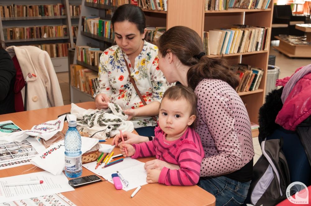 15  Workshop WAHM Atelier de cusaturi populare romanesti 14 Martie 2015