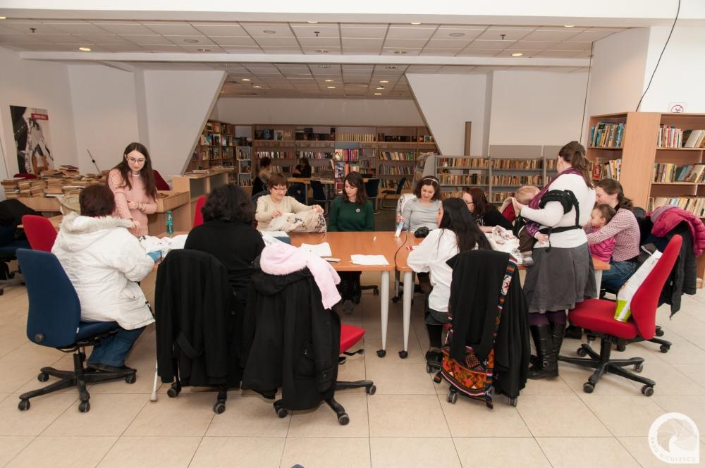 19  Workshop WAHM Atelier de cusaturi populare romanesti 14 Martie 2015