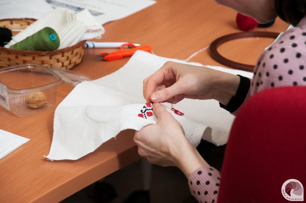 21  Workshop WAHM Atelier de cusaturi populare romanesti 14 Martie 2015