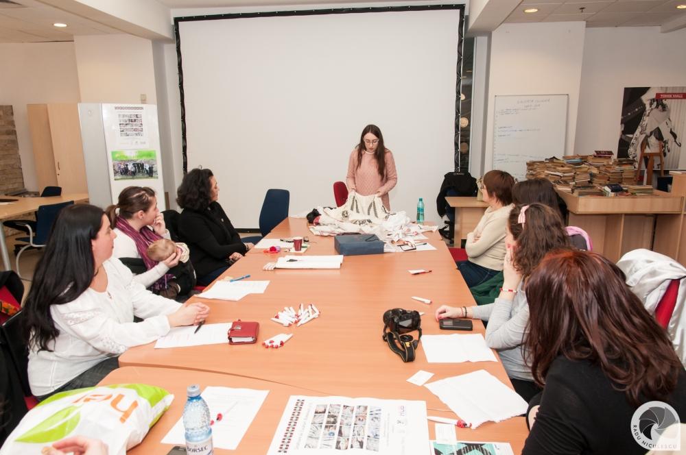 5  Workshop WAHM Atelier de cusaturi populare romanesti 14 Martie 2015